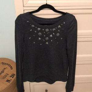 Hollister Jeweled sweatshirt